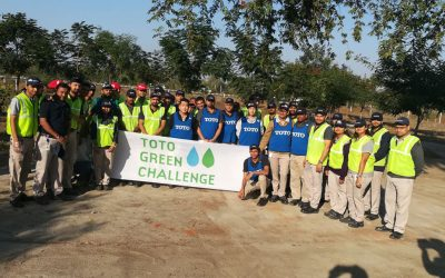 The Management and the TOTO staff at Halol Gujarat held another Corporate Social Responsibility (CSR) activity on 27th Dec 2017, at the Fatehpuri Village Temple where the cleaning and Plantation activity was done.