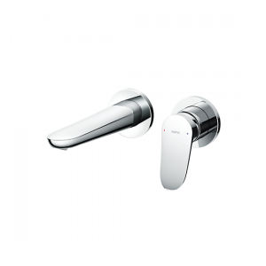 Wall-Mount Single Lever Washbasin Faucet  (Short Spout) without waste fitting