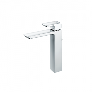 Single Lever Washbasin Faucet  (Tall Vessel)  (w/ pop-up)