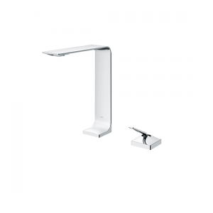 Single lever Washbasin Faucet for Tall Vessel w/o Pop-up Waste
