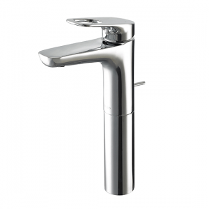 Extended Washbasin Faucet W/Pop-up Waste